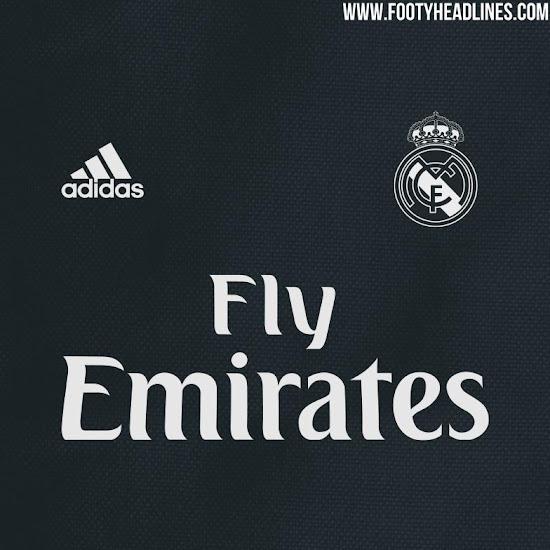 Real Madrid camiseta suplente 2018