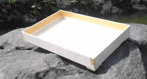 Kotak Ulat Hongkong  Dijemur Sebelum Digunakan untuk Menghilangkan Bau Kayu dan Kuman Bakteri
