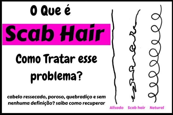 como tratar o scab hair