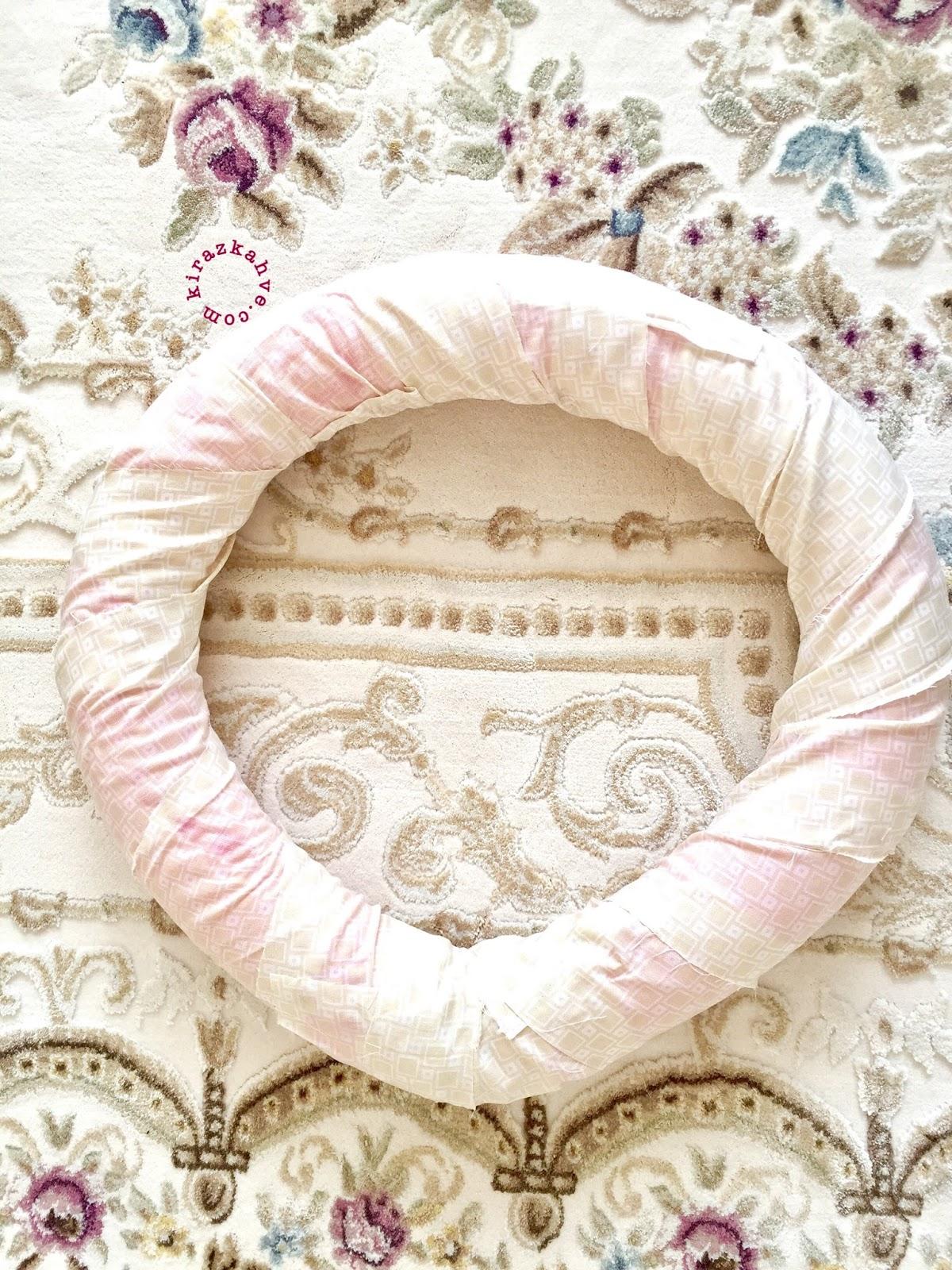 DIY ~ Kurumuş Gül ve Yapraklar ile Kapı Süsü Yapımı