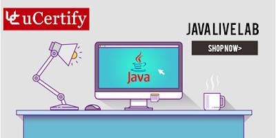 uCertify's Java Live Lab