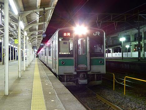 東北本線 普通 白河行き 701系