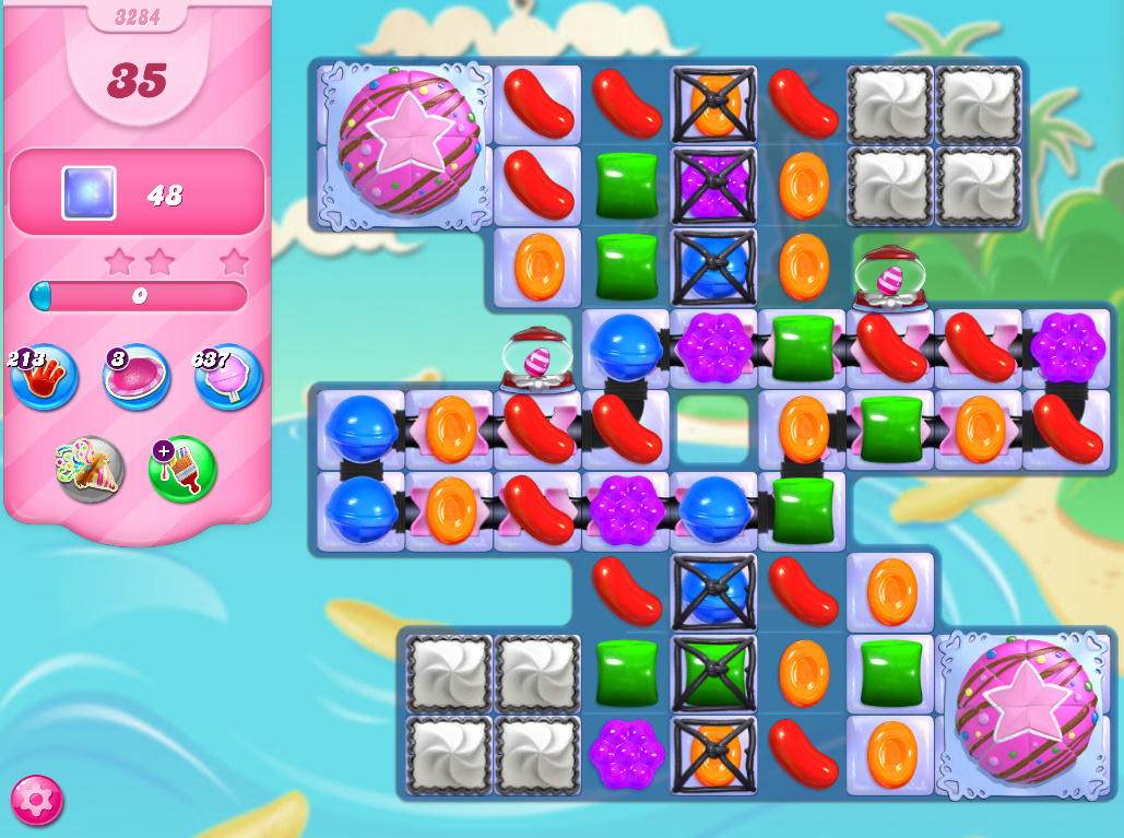 Candy Crush Saga level 3284