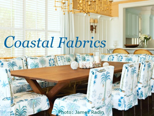 Fabrics From Seashell To Beach To Nautical Coastal Decor Ideas