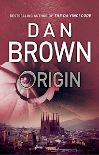 book cover of Origin by Dan Brown