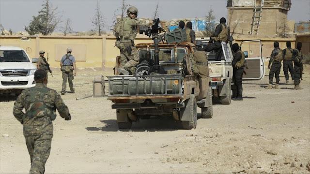 EEUU envía 200 soldados y muchos blindados a frontera sirio-iraquí
