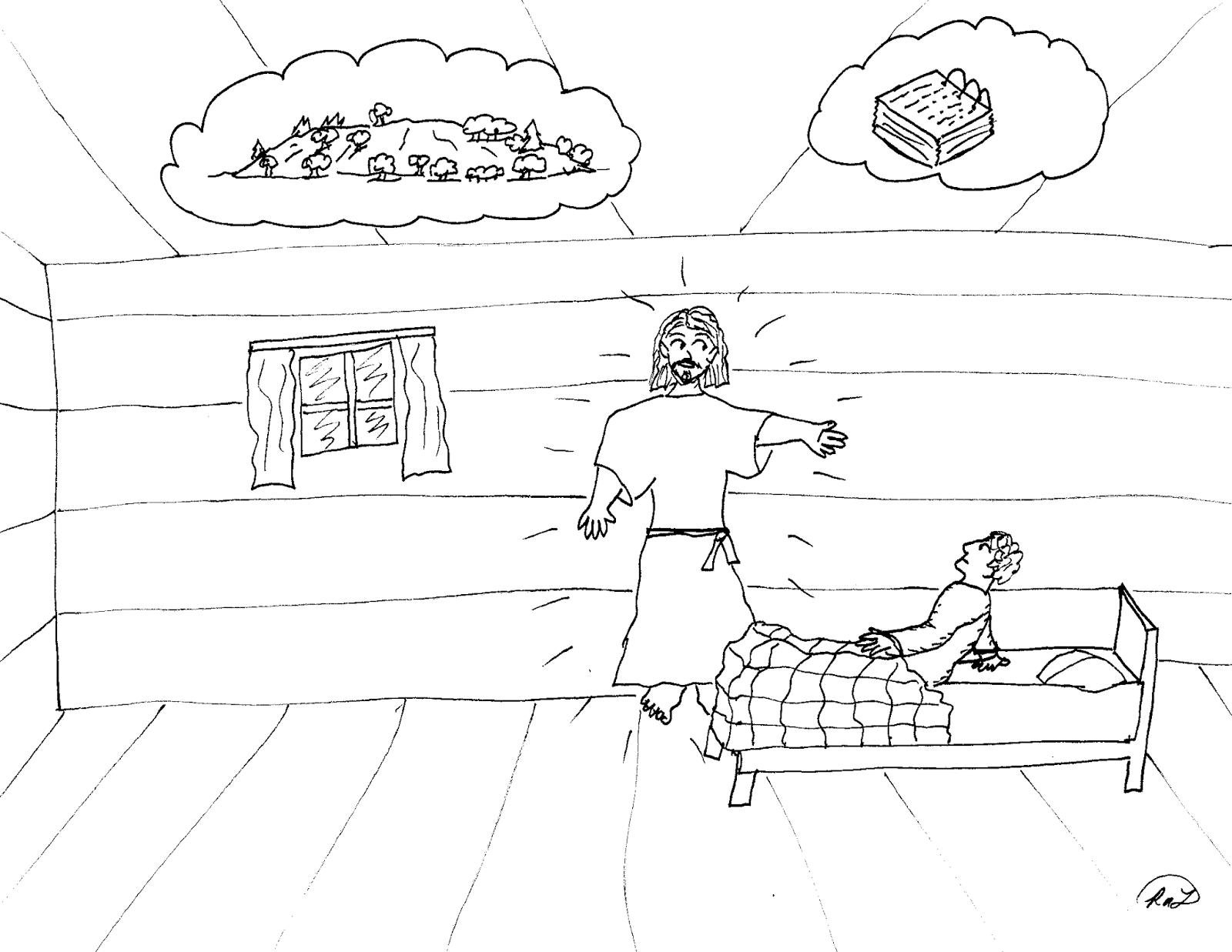 Excelente Dibujo De Joseph Para Colorear Ilustración - Ideas Para ...