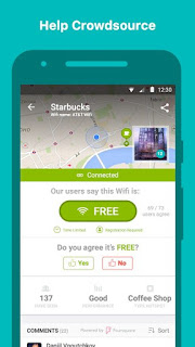 WifiMapper – Free Wifi Map v1.6.2 Latest APK