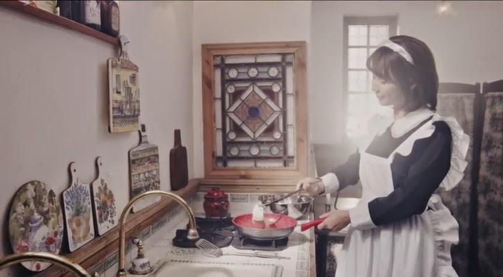 Empleada domestica japonesa