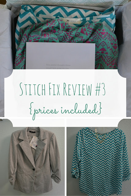 I asked for a mix of work and summer Stitch Fix outfits and I got them! This was probably the best Stitch Fix box I have ever received.