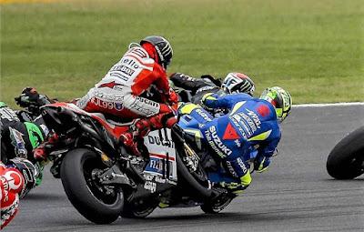 Lorenzo Jelaskan Kronologi Kecelakaannya di MotoGP Argentina