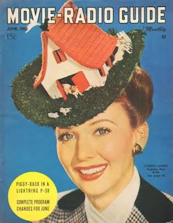 Carole Landis Movie Radio Guide