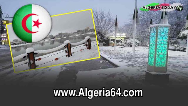 الثلوج تغطي أغلب ولايات الجزائر وتجعلها في أبهى حلة 2019