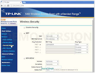 4 Guide To Set Up TP Link (TL-WA500G) As DHCP Wireless Access Level. Root