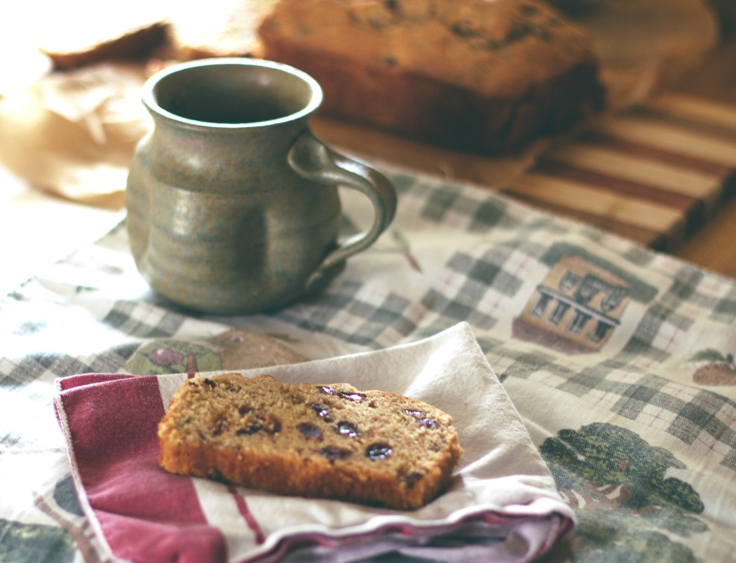 Gluten-Free Cinnamon-Raisin Quick Bread-Plumcake all'Uva Passa