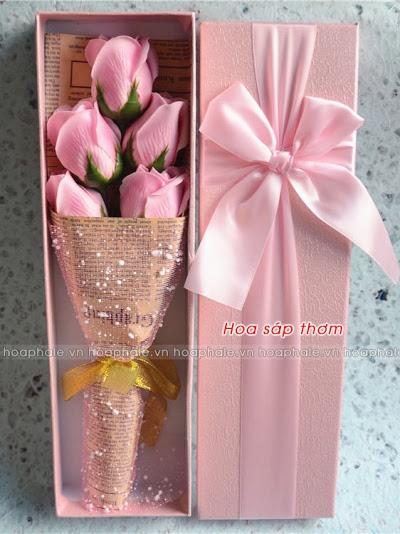 Hoa hong sap thom vinh cuu tai Ngoc Ha