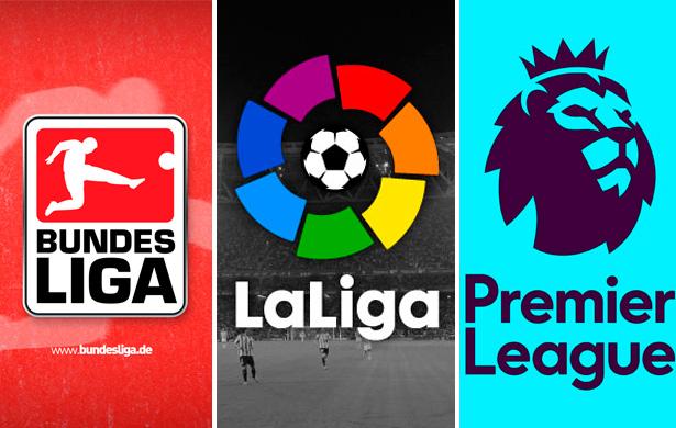 Ligas européias 2017/18 - Resultados e Classificação