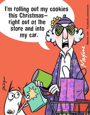 Maxine comics christmas