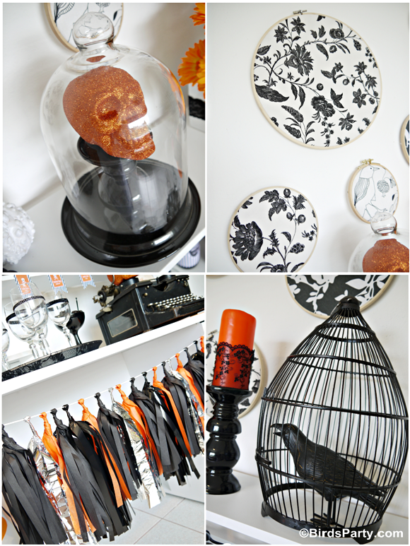 A Halloween Cheese and Wine Party - BirdsParty.com