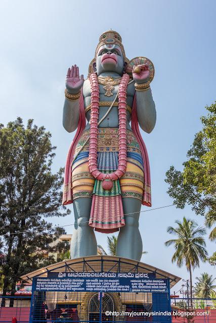 Big Anjaneya statue at Agara circle