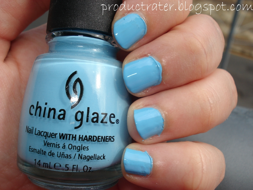 Productrater!: Baby Pastel Blue Nail Polish Swatches and ...
