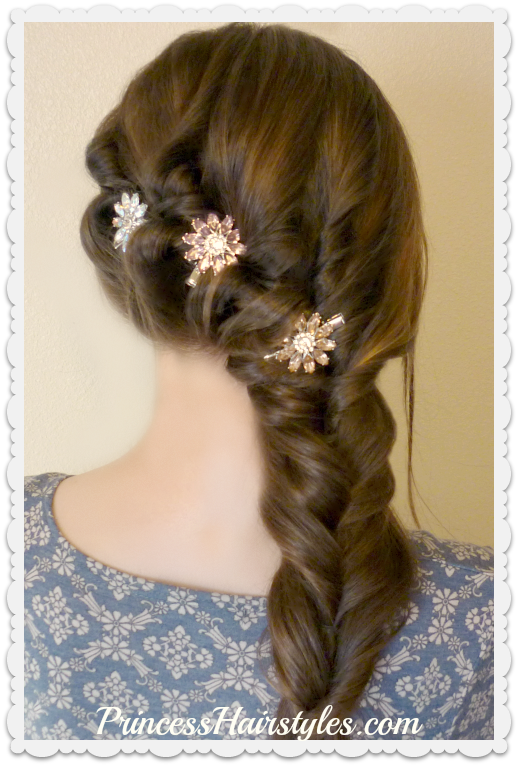 Side Swept Formal Hairstyle For Prom Hairstyles For Girls Hair