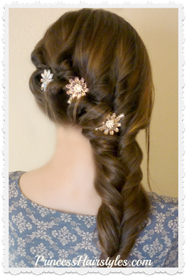 Gorgeous and easy #hairstyle for #prom. Video instructions.