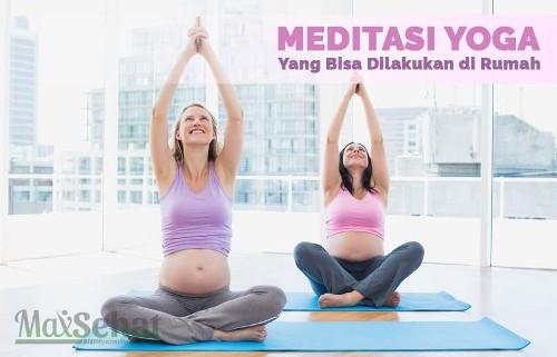 senam ibu hamil gerakan yoga dasar