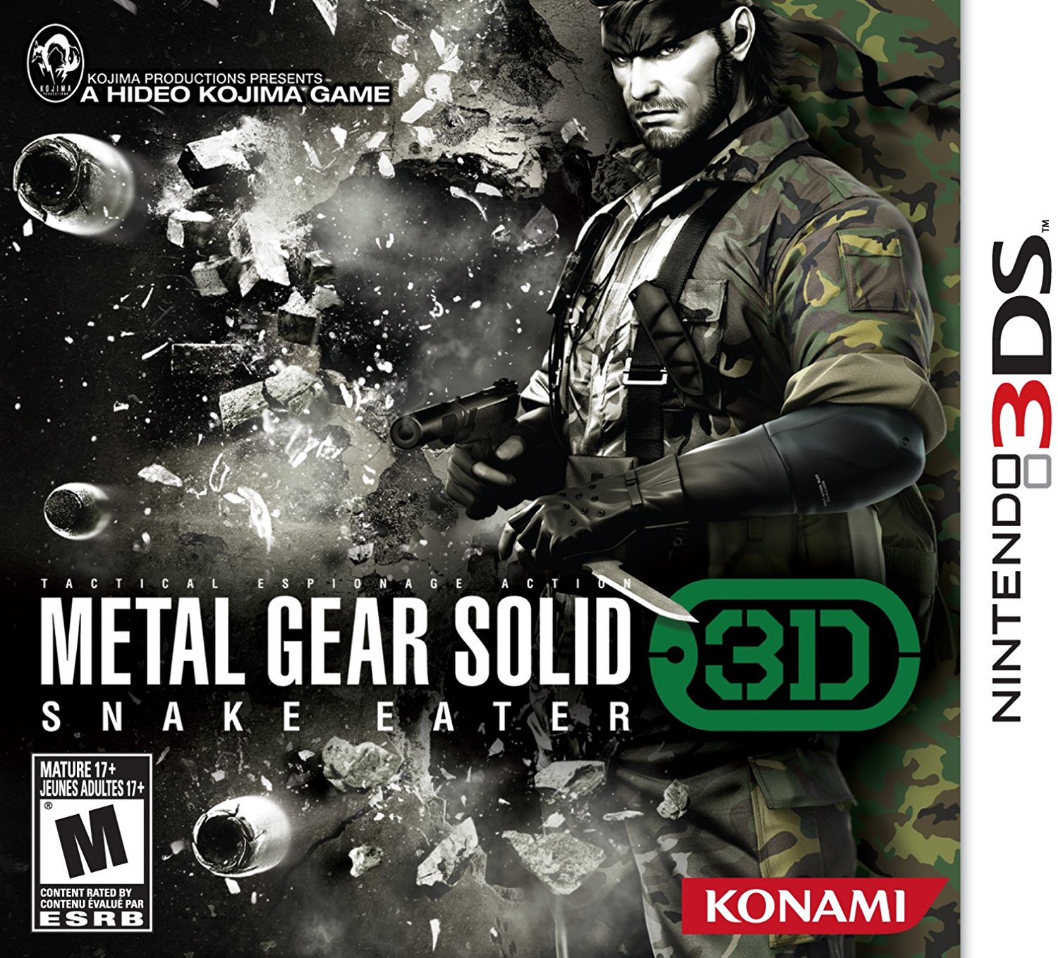 Download 3DS CIAs: Metal Gear Solid: Snake Eater 3D