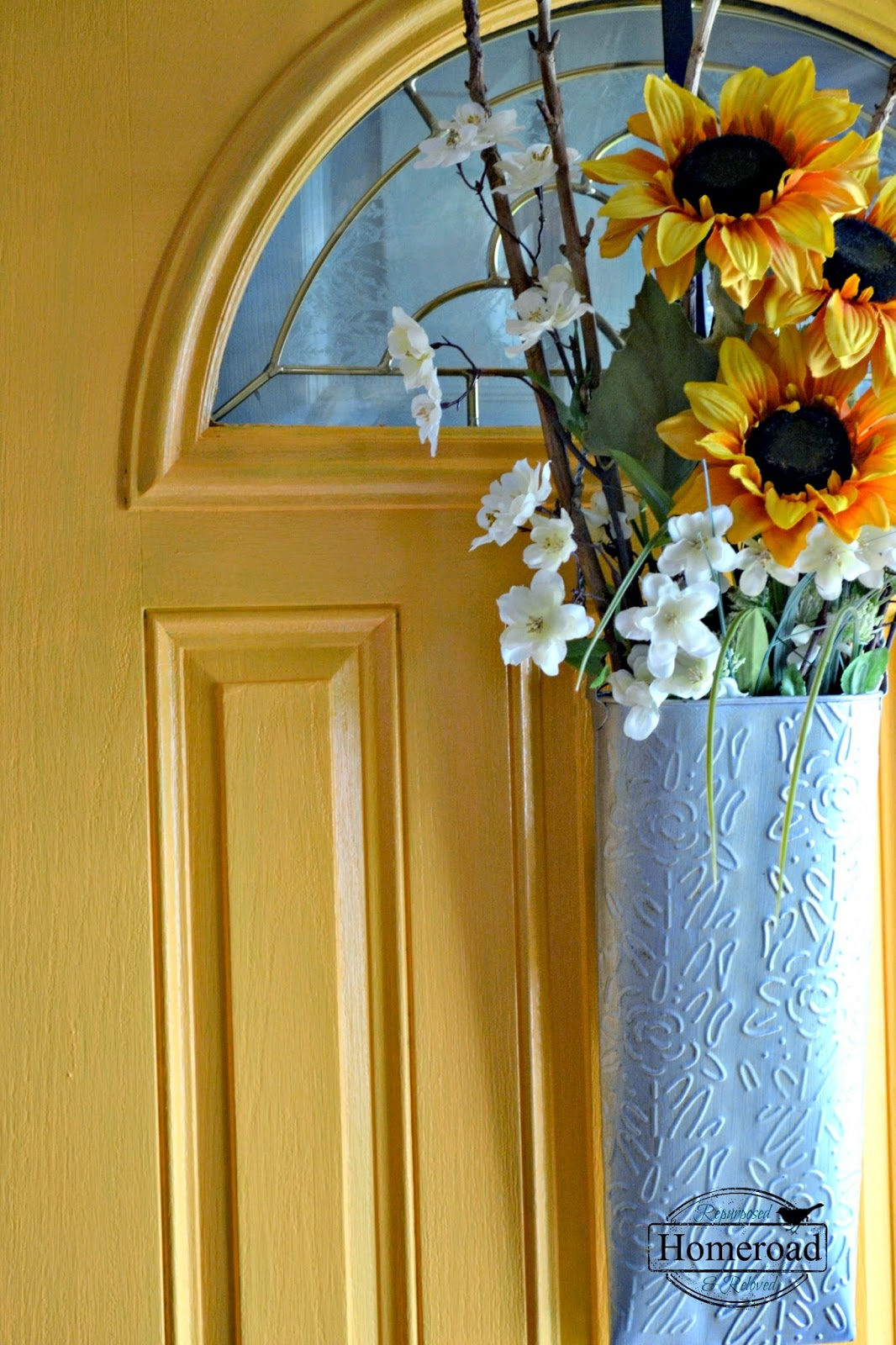 painting-my-front-door-yellow-Modern-Masters www.homeroad.net