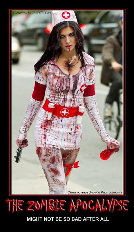 Womens Sexy Zombie