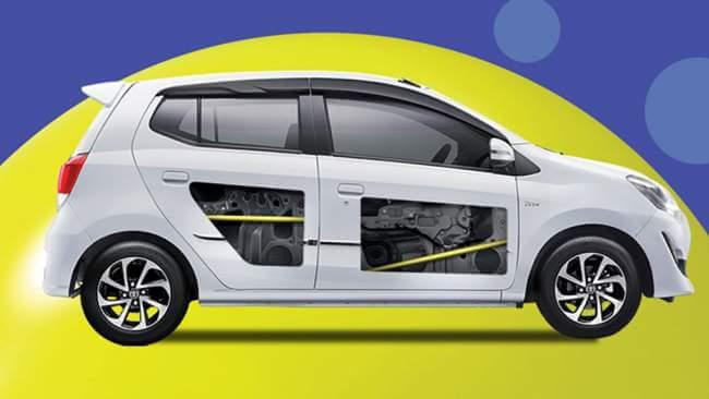 Fitur Keamanan Side Impact Beam pada Toyota New Agya