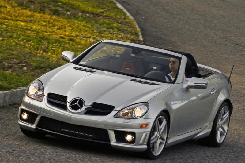 Самые надежные бу-авто: Mercedes SLK