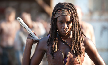 Danai Gurira Michonne de The Walking Dead