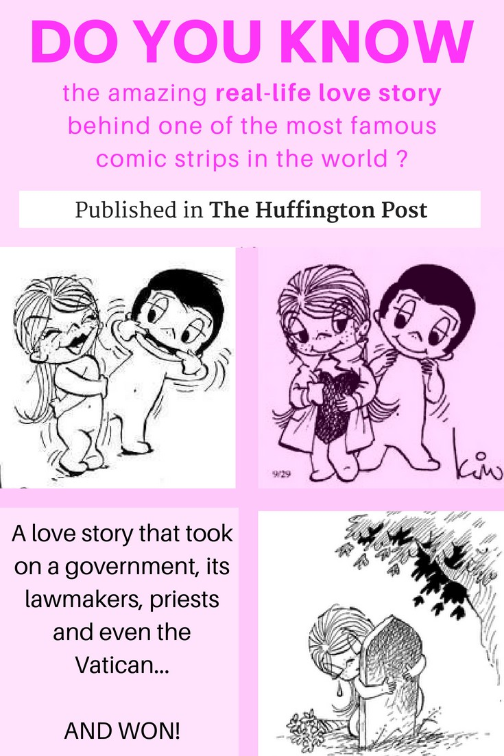 Do you know the love story behind LOVE IS - one of the most famous comic strips in newspapers across the world