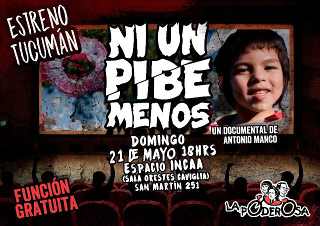 Ni un Pibe Menos (Antonio Manco) Documental Estreno HD