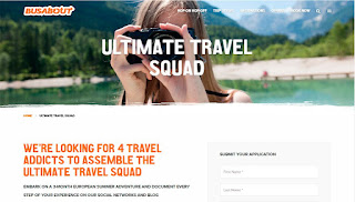 Concurso Ultimate Travel Squad