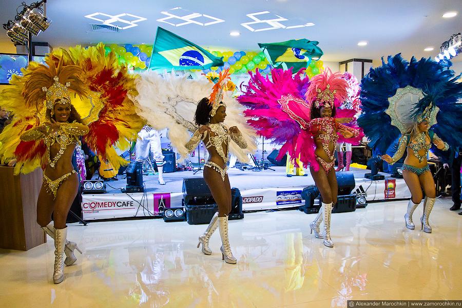 Бразильский карнавал в Саранске