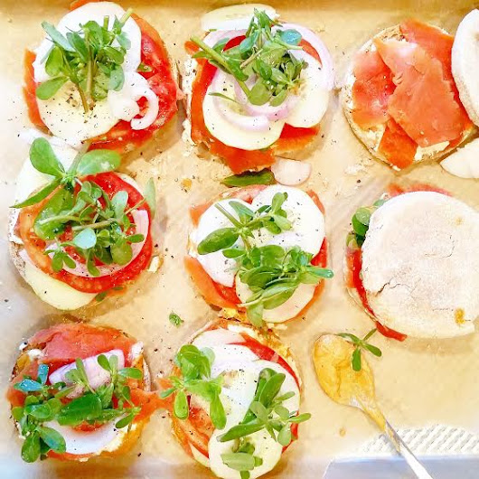 Nova Lox with Everything & Open-Faced English Muffins!