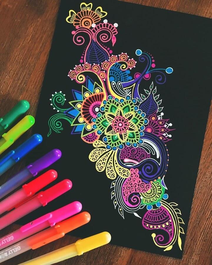 11-Mandala-and-Zentangle-Drawings-Simran-Savadia-www-designstack-co