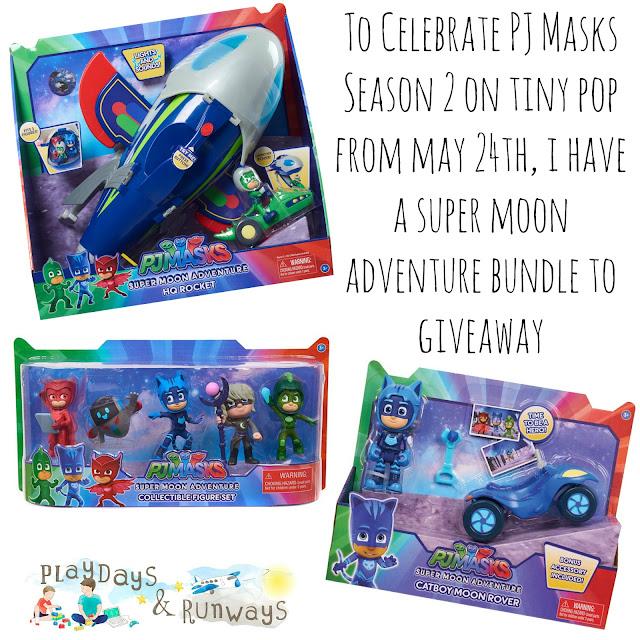Giveaway | PJ Masks Super Moon Adventure Bundle