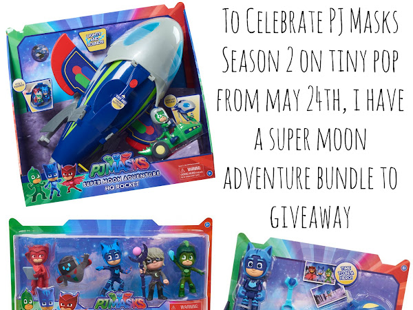 Giveaway | PJ Masks Super Moon Adventure Bundle
