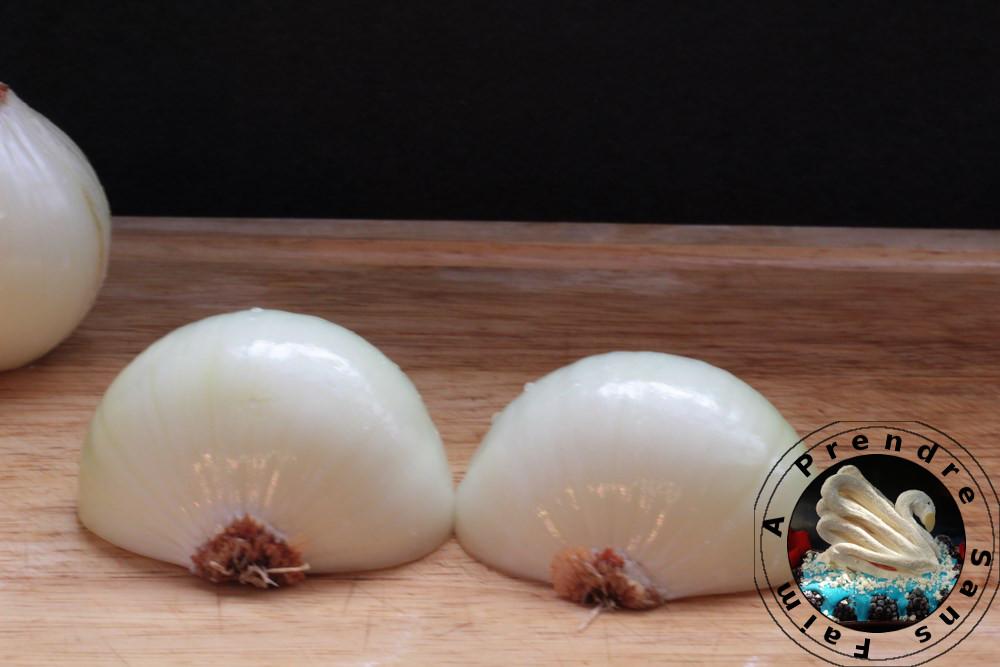 Comment couper des oignons comme un chef(pas à pas en photos)