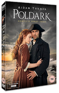 Poldark S3 DVD, Aidan Turner, special features, audio commentary, order
