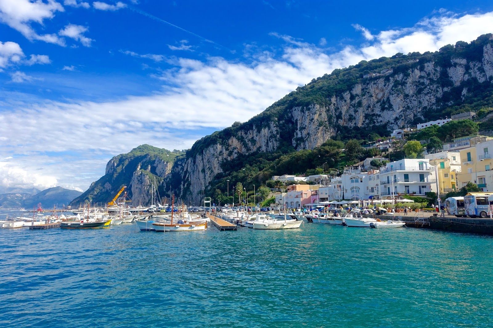 day trip to capri by boat from sorrento