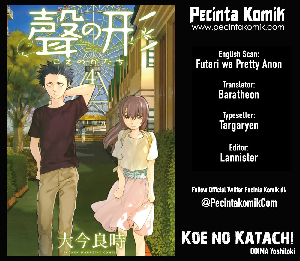 Koe no Katachi Chapter 28-1
