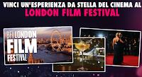 Logo Vinci la tua esperienza da stella del cinema con UCI Cinemas e vola al London Film Festival