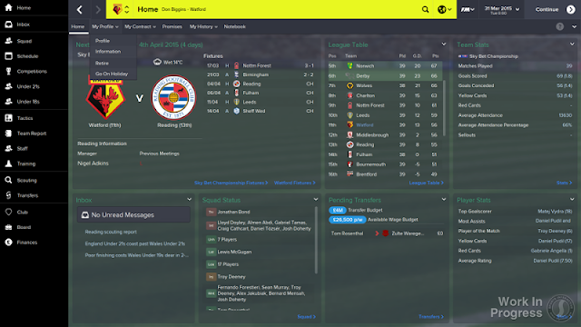 Football Manager 2015 Full Version Free Download Screenshot 1