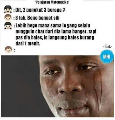 10 Meme 'Nggak Mudah Chatting dengan Gebetan' Ini Kocak Banget