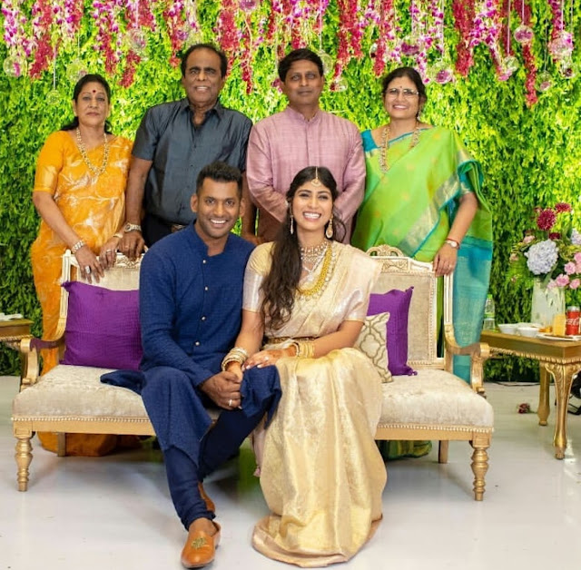 Vishal and Anisha Engagement